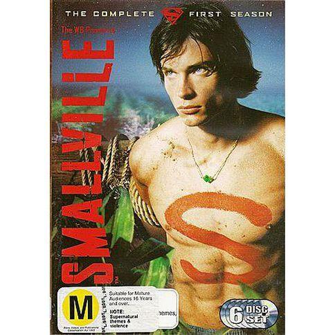 Smallville Season 1 DVD 6Disc
