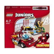Marvel LEGO Juniors Ironman vs Loki 10721