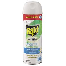 Raid Automatic Multi Insect Control System Earth Options Refill 305g