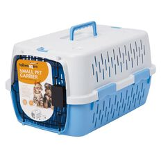 Tailwaggers Pet Carrier Blue 36cm x 52cm x 34cm
