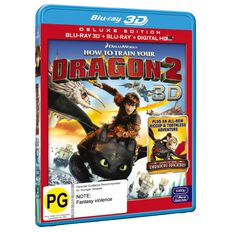 How To Train Your Dragon 2 3D Blu-ray 2Disc