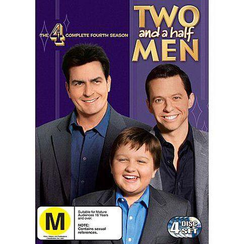 Two And A Half Men Season 4 DVD 4Disc