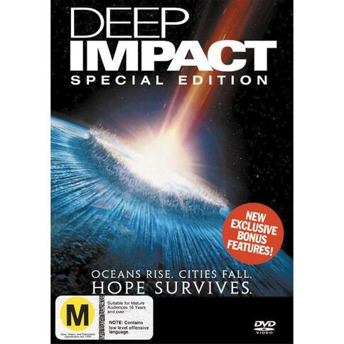 Deep Impact Special Edition DVD 1Disc