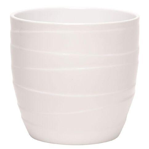 SK Pot Barletta White 16cm