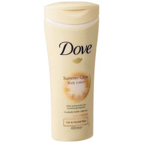 Dove Summer Glow Body Lotion Fair To Normal 400ml