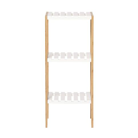 Living & Co Bamboo Shelf 3 Tier
