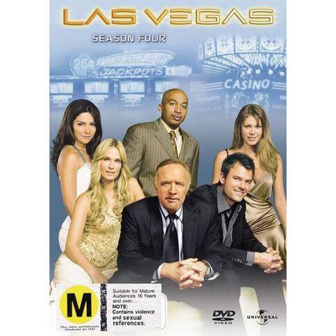 Las Vegas Season 4 DVD 5Disc
