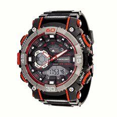 Dunlop Men's Watch Black/Red