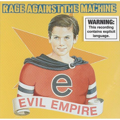 Evil CD by Rage Against The Machine 1Disc