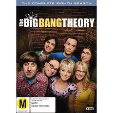 Big Bang Theory Season 8 DVD 3Disc