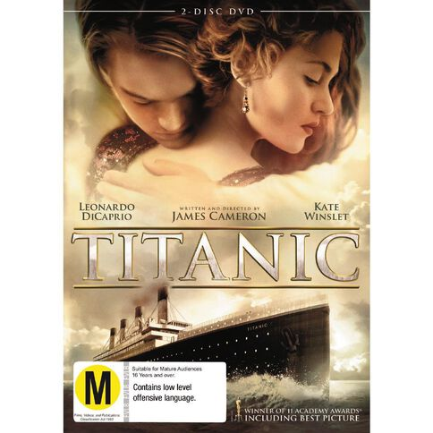 Titanic DVD 2Disc