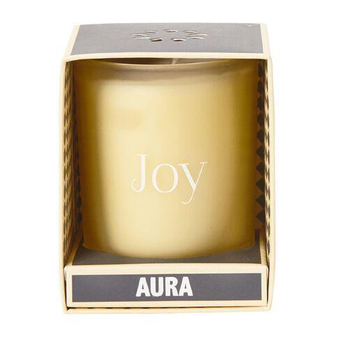 Aura Jar Candle Vanilla Cream 6oz