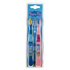 Peppa Pig Peppa Pig Toothbrush 2 Pack 2 Pack