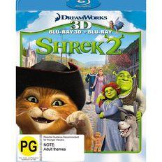 Shrek 2  Blu-ray + 3D Blu-ray 2Disc