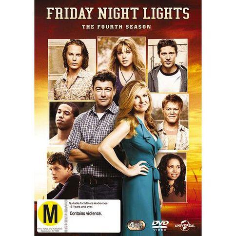 Friday Night Lights Season 4 DVD 3Disc