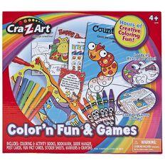 Cra-Z-Art Colour 'n Fun & Fun Games