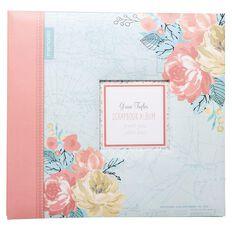 Grace Taylor Away We Go Scrapbook Album 12in x 12in