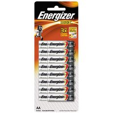 Energizer Max Batteries AA Value 16 Pack