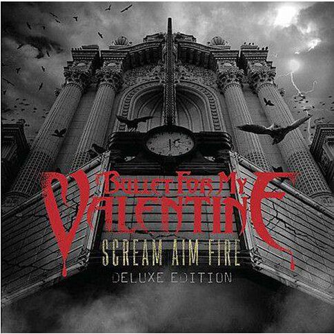 Scream Aim Fire (Deluxe Edition) by Bullet For My Valentine CD/DVD