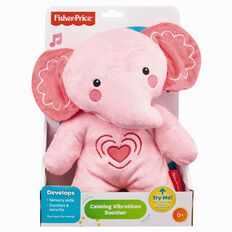 Fisher-Price Calming Vibrations Pink Elephant