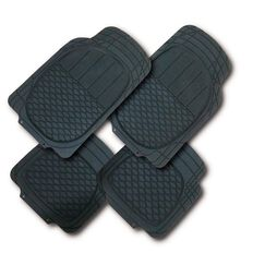 Auto FX Car Mat Rubber 4 Piece