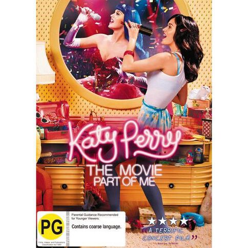 Katy Perry Part Of Me DVD 1Disc
