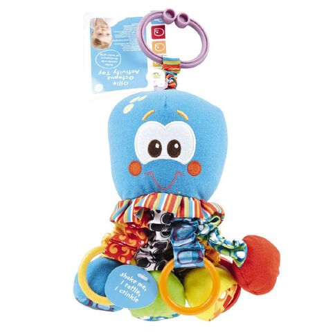 Squeek Octopus Activity Toy 10in 10 inch