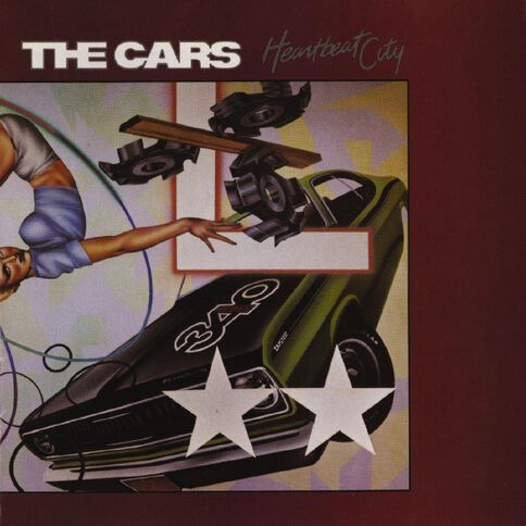 Heartbeat City CD by The Cars 1Disc