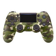 PS4 DualShock 4 Green Camo