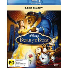 Beauty and The Beast Blu-ray 2Disc