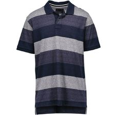 Match Block Stripe Polo