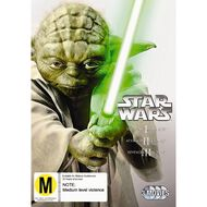 Star Wars Prequel Trilogy DVD 3Disc