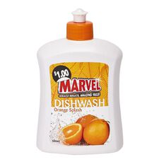 Marvel Dishwash Liquid Orange 500ml