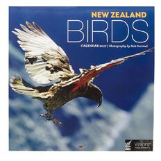 Calendar 2017 NZ Birds Compact 180mm x 180mm