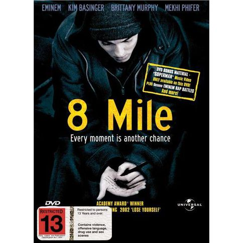 8 Mile DVD 1Disc