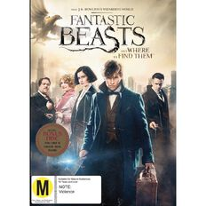 Fantastic Beasts DVD 2Disc
