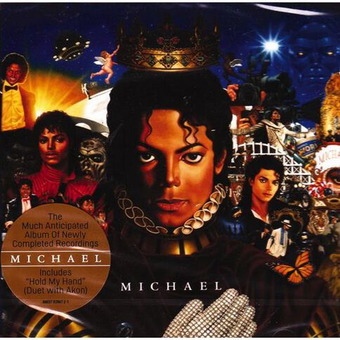 Michael by Michael Jackson CD