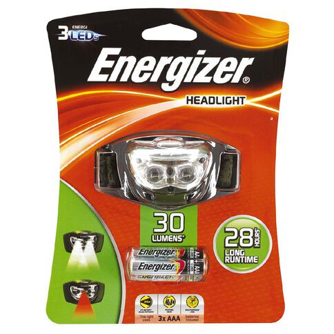 Energizer LED Headlight With 3 AAA Batteries