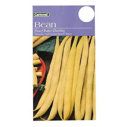 Carnival Dwarf Butter Beans Vegetable Seeds