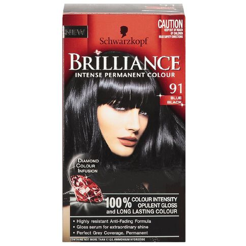 Schwarzkopf Brilliance 91 Blue Black