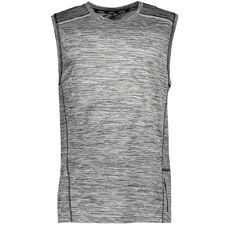 Active Intent Men's Space Dye Muscle Shirt