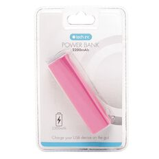 Tech.Inc 2200mah Emergency Power Bank v.2 Pink