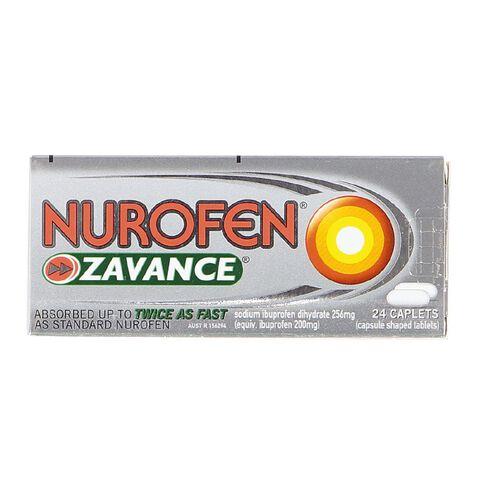 Nurofen Zavance Caplets 24s