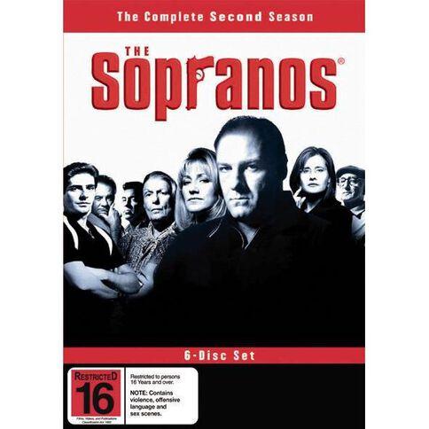 The Sopranos Season 2 DVD 4Disc