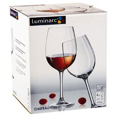 Luminarc Chateau Red Wine 4 Pack