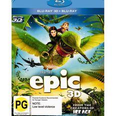 Epic 3D Blu-ray 2Disc