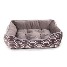 Petzone Miami Dog Bed Gunmetal