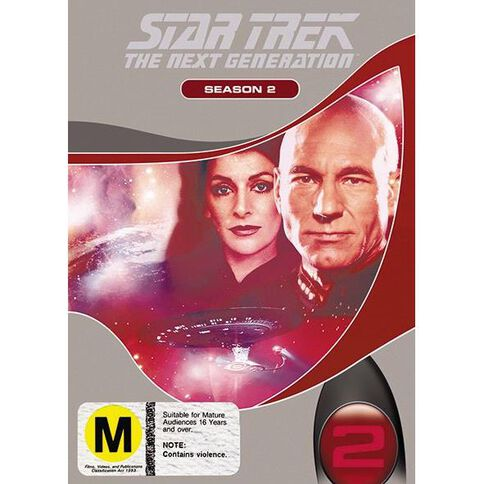 Star Trek Next Generation Season 2 DVD 1Disc