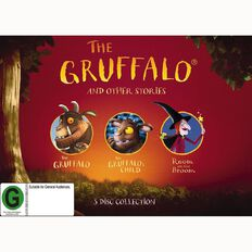 The Gruffalo and Other Stories 3Disc