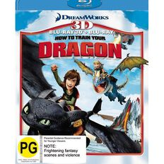 How To Train Your Dragon Blu-ray + 3D Blu-ray 2Disc